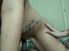 Two homemade threesomes with hot chicks who love to fuck