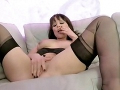 Nylon fuck for Lucy