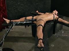 Slave Wenona Gets Fucked By Machine