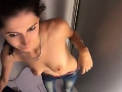 Breathtaking czech kitten gets seduced in the mall and pound