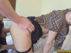 A beautiful Arab lady agreed to suck cock and got fuck