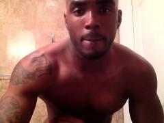 Hot Muscular Black Gay Boy