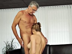 daddy4k. beauty finally gets chance to make love with