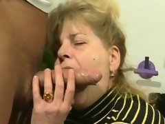 Big breast granny - hairy pussy - do you like her