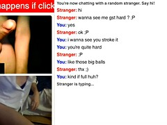 My gf's Omegle adventures 1
