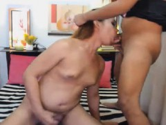 Sexy Shemale Duo Fuck Each Other Ass