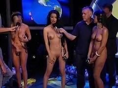 Wettbewerb, Frau, Nackt