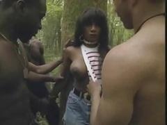 Anaal, Zwart, Dubbele penetratie, Zwart, Frans, Groepseks