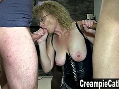 5 Massive Creampies For MILF