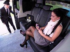 Bus, Voiture, Tromperie, Européenne, Italienne, Jupe, Sous la jupe