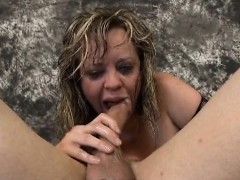 Blonde Streett Ho Mallory Maneater Gagging On Dudes Dick