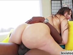 Gros cul, Grosse bite, Tir de sperme, Hard, Interracial