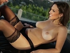 Beautiful Lily in adore fuck