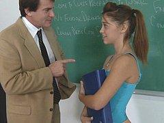 Collège université, Mignonne, Hard, Petite femme, Rousse roux, Élève, Étudiant, Adolescente