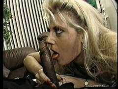 stunning babes with nice ass getting deepthroat feasting in interracial compilations