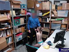 Teen thief Catarina Petrov forced to fuck the LP officer
