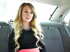 Petite Pick Up Chick Banged In Car
