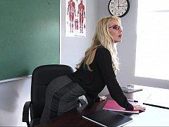 Blonde, Lunettes, Lingerie, Mère que j'aimerais baiser, Maman, Jarretelles, Étudiant, Professeur