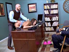 Hot Schoolgirl gets Fucked by the Dean