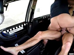 dp threesome in taxi