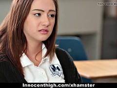 InnocentHigh- Hot Schoolgirl Fucked By Creepy Teacher
