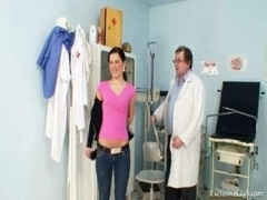 Sandra visits gyno doctor for snatch speculum revision