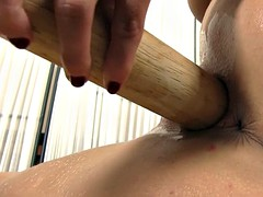 wet and hot pussy fingering