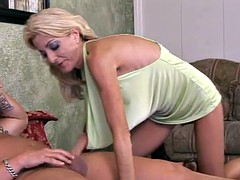Slim mature blonde always gets exactly what she wants