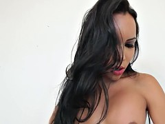 sexy shemale cumming solo