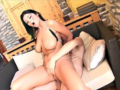 Cock Riding Babe Creamed