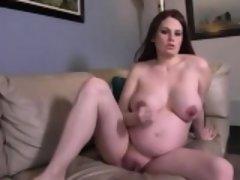 beautiful bigtits preggo webcam masturbation show