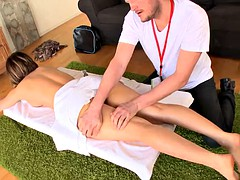 Aleska Diamond - A special massage for my big butt