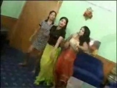 Indian Teen chicks Dancing Undressed