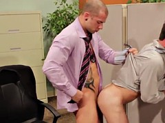 intense anal sex during work