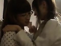 Two delightful Oriental girls relinquish their bodies to on