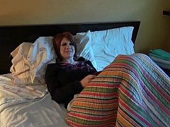 18 ans, Chambre à dormir, Petite amie, Pov, Rousse roux, Nénés