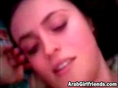 Passionate Arab Girlfriend Moans While Getting Pussy Slammed In Bedroom