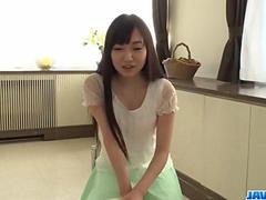Chiemi Yada feels needy to take down her undies