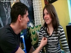 Sophy is a lascivious tiny German teen with a hunger f
