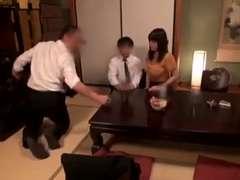 Gehörnter ehemann, Japanische massage