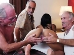 College Babe Nikki Kay Gets Freaky With Old Men