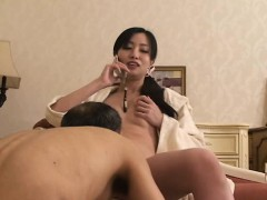 Japanese goddess with sub slave male p4