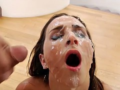 Gangbang Bukkake Full of Cum HD