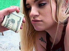 Geld, Buiten, Gezichtspunt, Openbaar, Kut duiken, Tiener