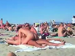 素人, お尻, ビーチ, フェラチオ, 茶髪の, 淫乱熟女, 乳首, アウトドア