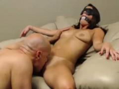 Webcam Slut Takes On Two Cocks
