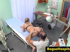 19yo amateur doggystyled by doctor