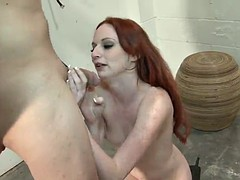 bdsm fun with the kinky redhead babe audrey lords