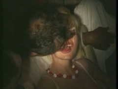 french wife touched and besides licked in porno cinema (80s)