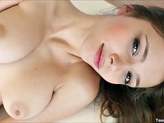 Busty Teen Mila Azul Hot Masturbation